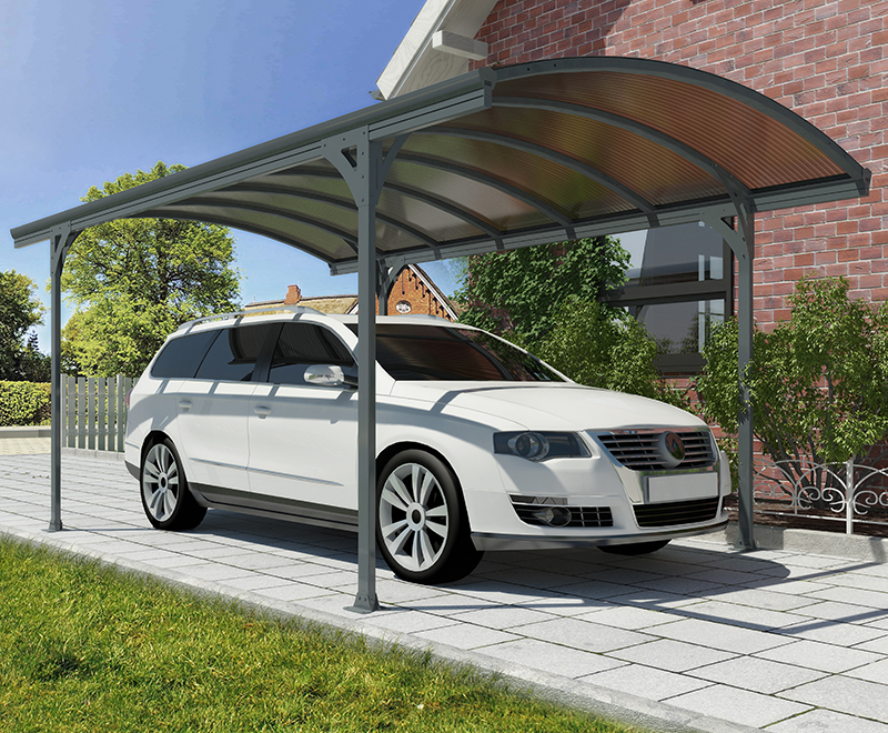 Vitoria Carport - Gray/Bronze