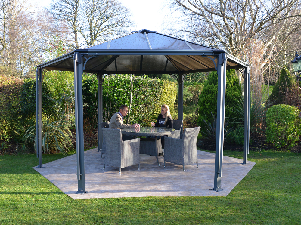 Palram Monaco Hexagon Gazebo