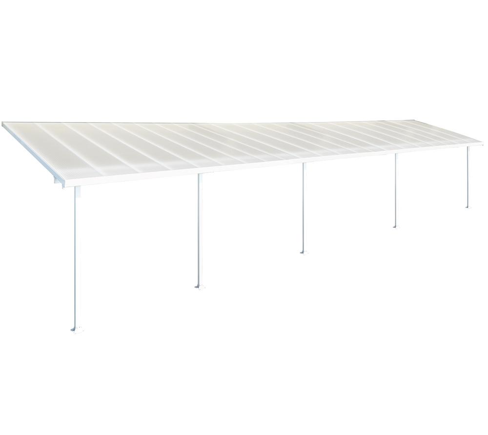 Patio Cover 10' x 28' White