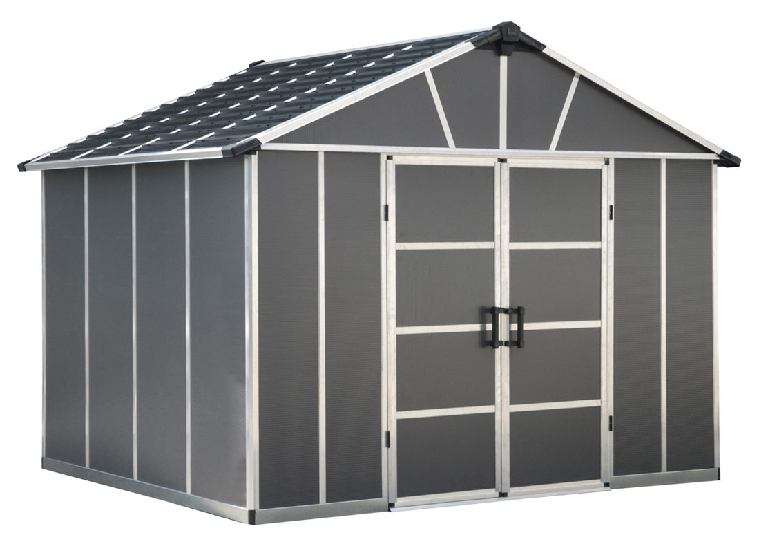 Yukon Shed S- 11' x 9' Gray