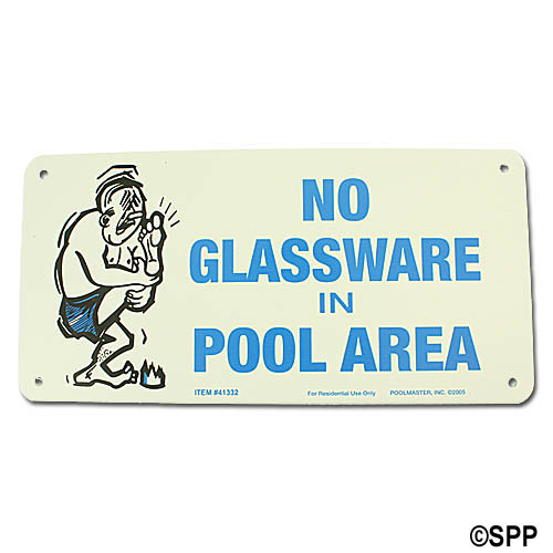 Backyard Sign, No Glassware