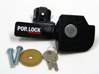 Manual Tailgate Lock - Black