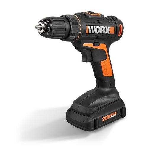 WX 20v Drill Driver 2 Battery