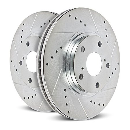 (AR8655XPR) Drilled and Slotted Rotor