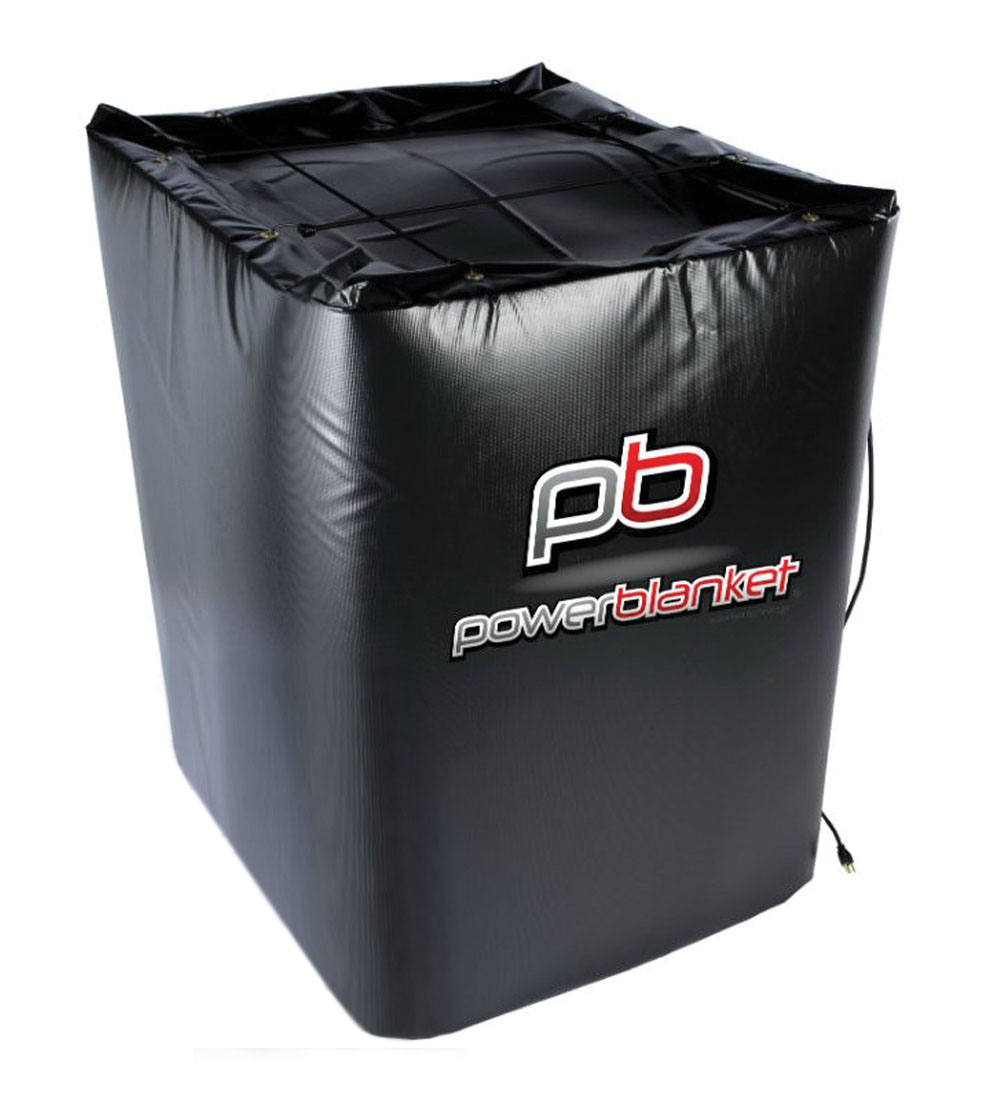 Powerblanket 350 Gallon IBC Heater - TH350 Insulated Storage Tote Heater w/Thermostat Controller, 145 deg F, 120V