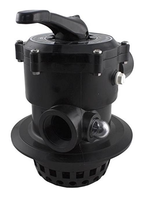 """Filter Valve, Top Mount, 1-1/2"""", Clamp Style, 8.22"""" Flange"""