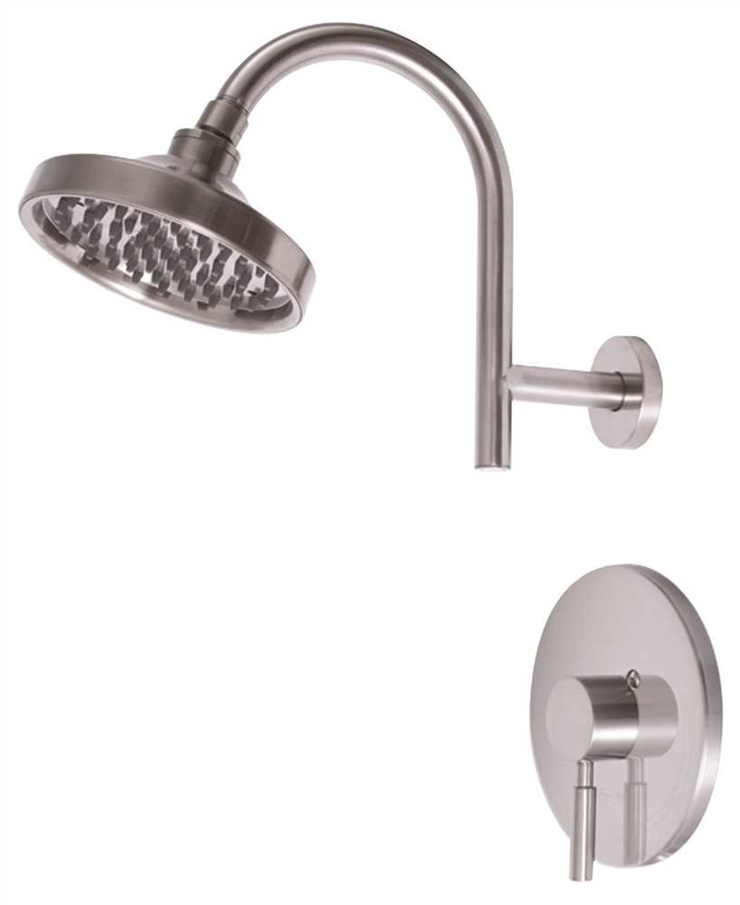Premier 120092 Essen Single-Handle Shower Faucet, PVD Brushed Nickel