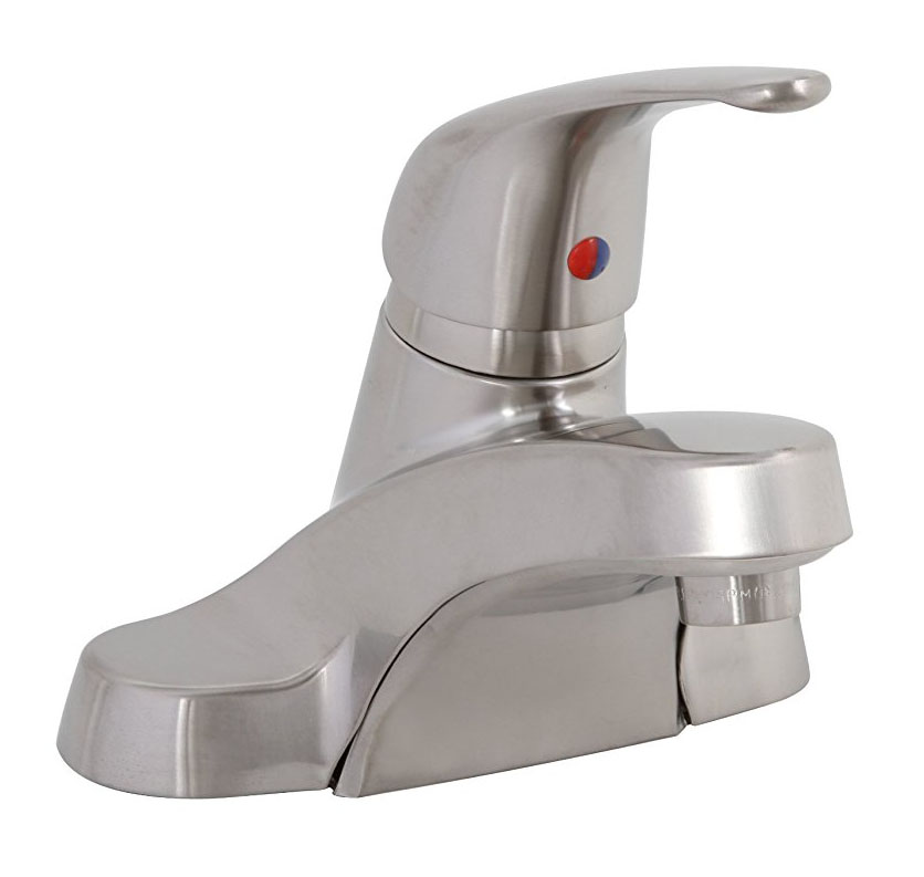 1.5 GPM Westlake Single-Handle Lavatory Faucet without Pop-Up, PVD Brushed Nickel