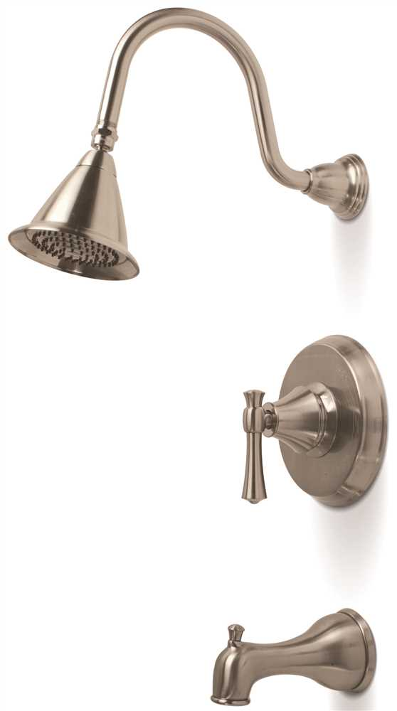 Torino Single-Handle Tub & Shower Faucet, Brushed Nickel