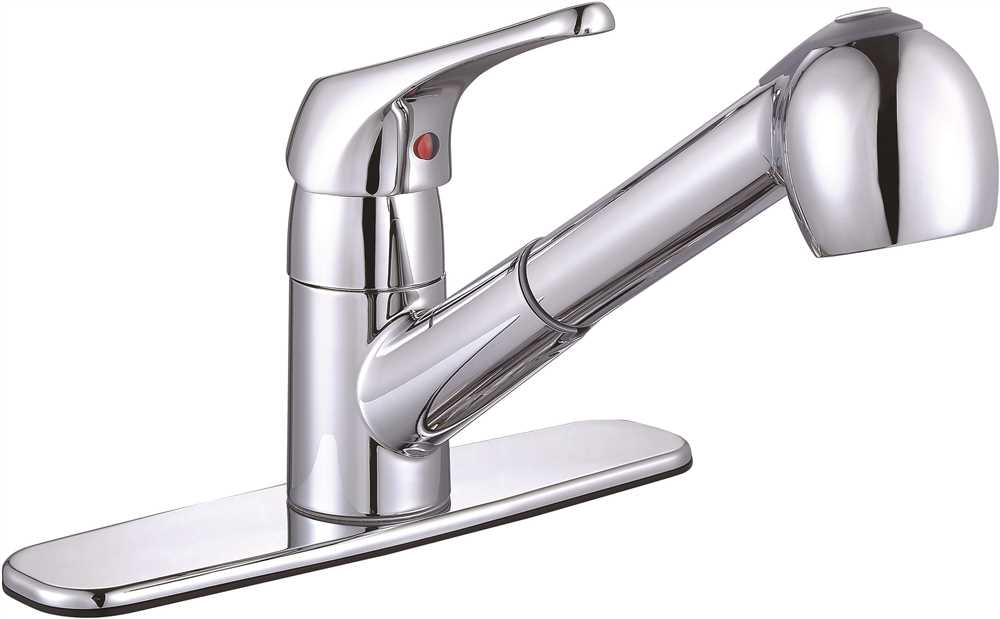 Sonoma™ Single Handle Pull-Out Kitchen Faucet, Chrome