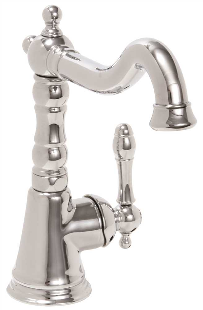 Charlestown Lead-Free Single-Handle Bar Faucet, Chrome