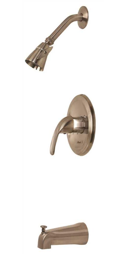 Westlake Single-Handle Tub & Shower Faucet, PVD Brushed Nickel