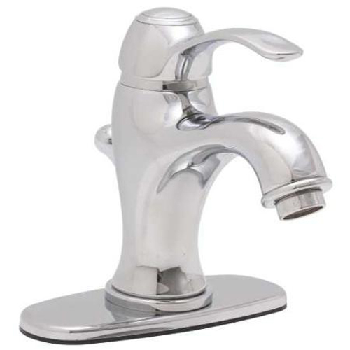 1.5 GPM Premier Sanibel Single Handle Centerset Lavatory Faucet with Waterfall-Style Spout, Chrome Finish