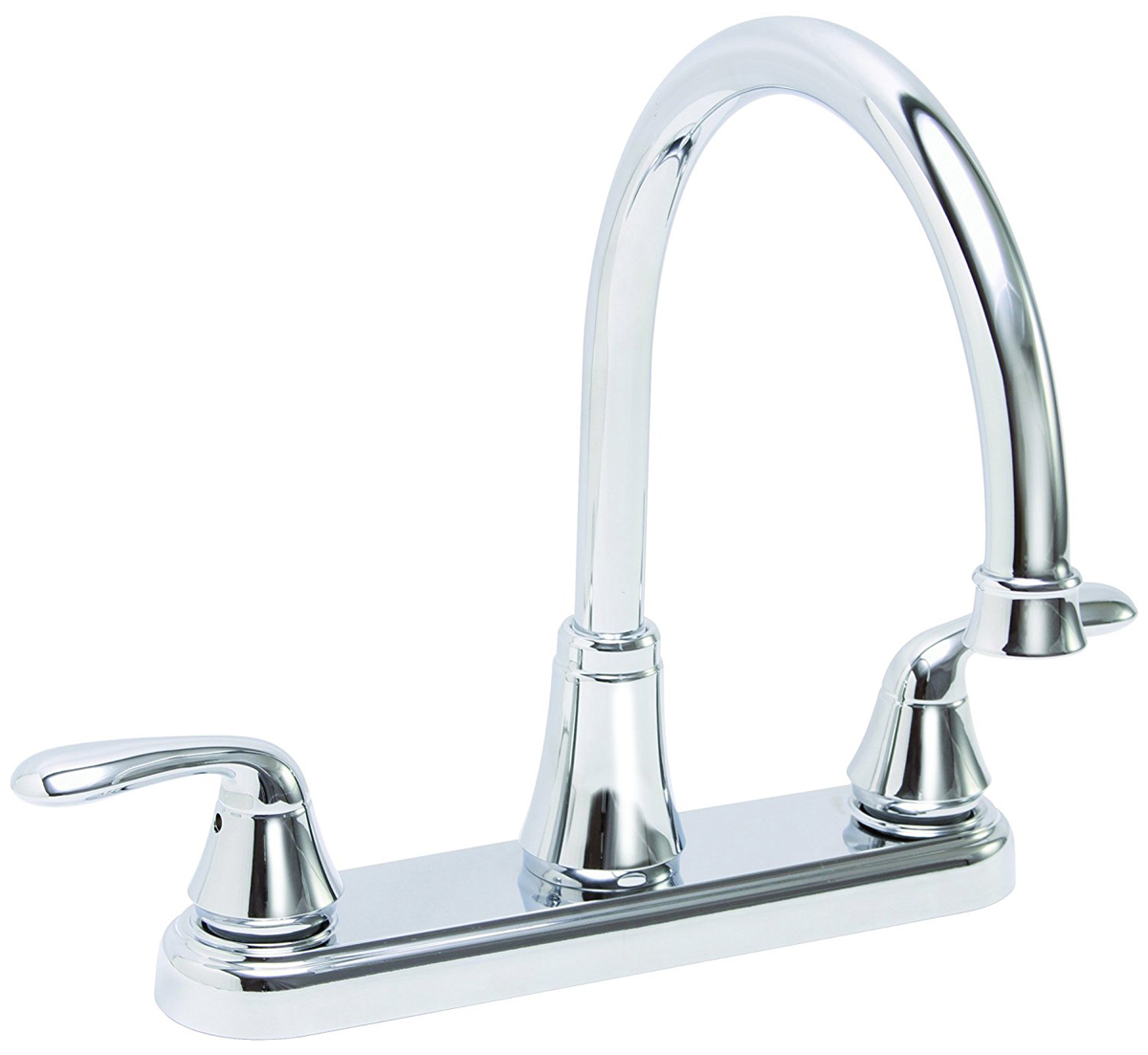 Premier Waterfront Lead-Free Two-Handle Kitchen Faucet without Spray, Chrome