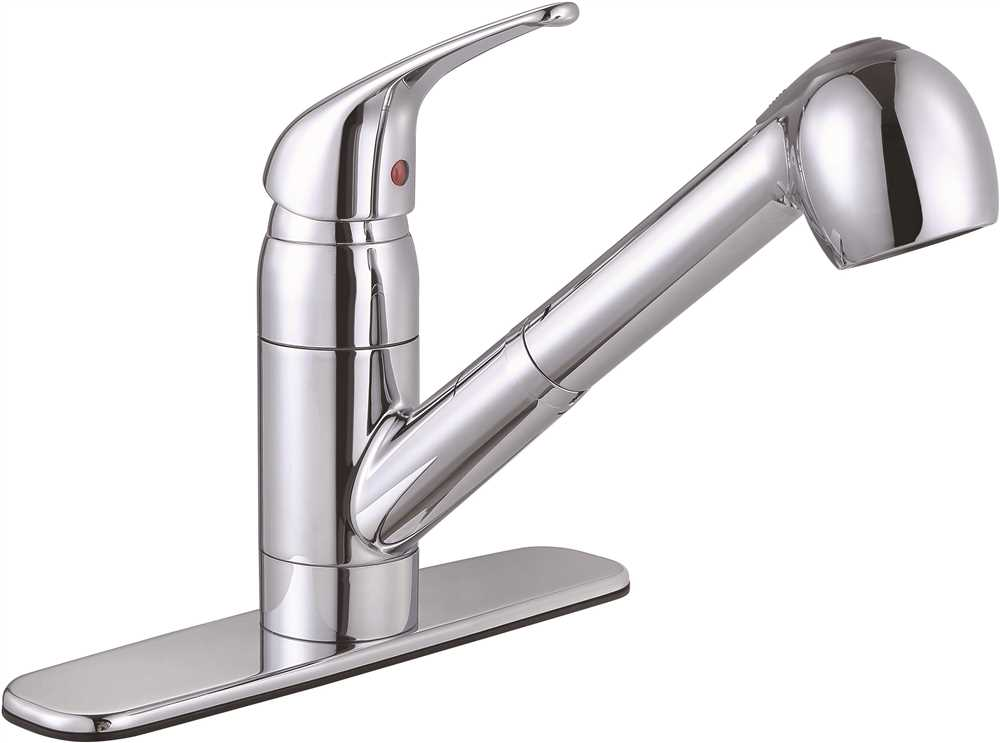 BAYVIEW KITCHEN FAUCET PULL OUT LEAD FREE CHROME