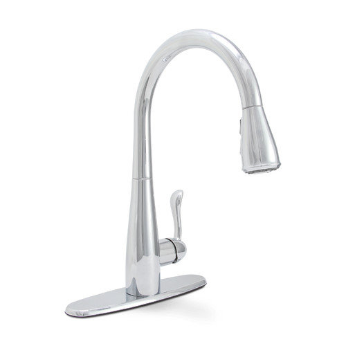 PREMIER SANIBEL SINGLE HANDLE PULL-DOWN KITCHEN FAUCET CHROME FINISH