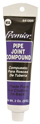 PREMIER PIPE JOINT COMPOUND, 2 OZ. TUBE