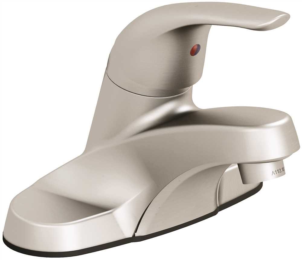 PREMIER� BAYVIEW� SINGLE-HANDLE CENTERSET LAVATORY FAUCET WITHOUT POP-UP, BRUSHED NICKEL