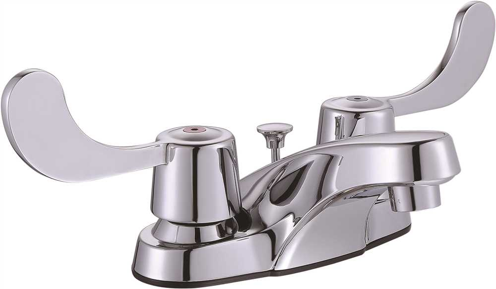 PREMIER� BAYVIEW� TWO-HANDLE CENTERSET LAVATORY FAUCET WITH POP-UP, CHROME