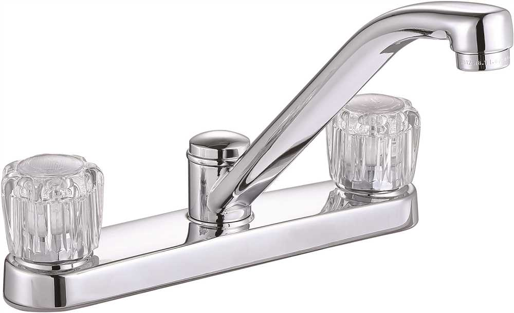 PREMIER� BAYVIEW� TWO-HANDLE KITCHEN FAUCET WITHOUT SIDE SPRAY, CHROME