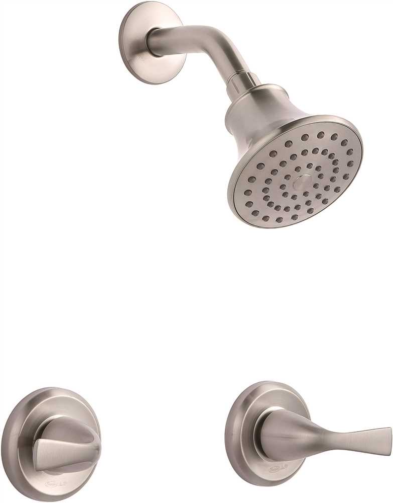 PREMIER� SANIBEL� TWO-HANDLE SHOWER-ONLY FAUCET, BRUSHED NICKEL