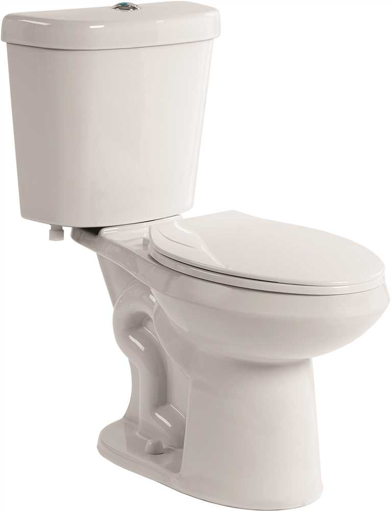 PREMIER SELECT� DUAL FLUSH ALL-IN-ONE ELONGATED COMFORT HEIGHT TOILET WITH PLASTIC SEAT, 1.6/1.1 GPF