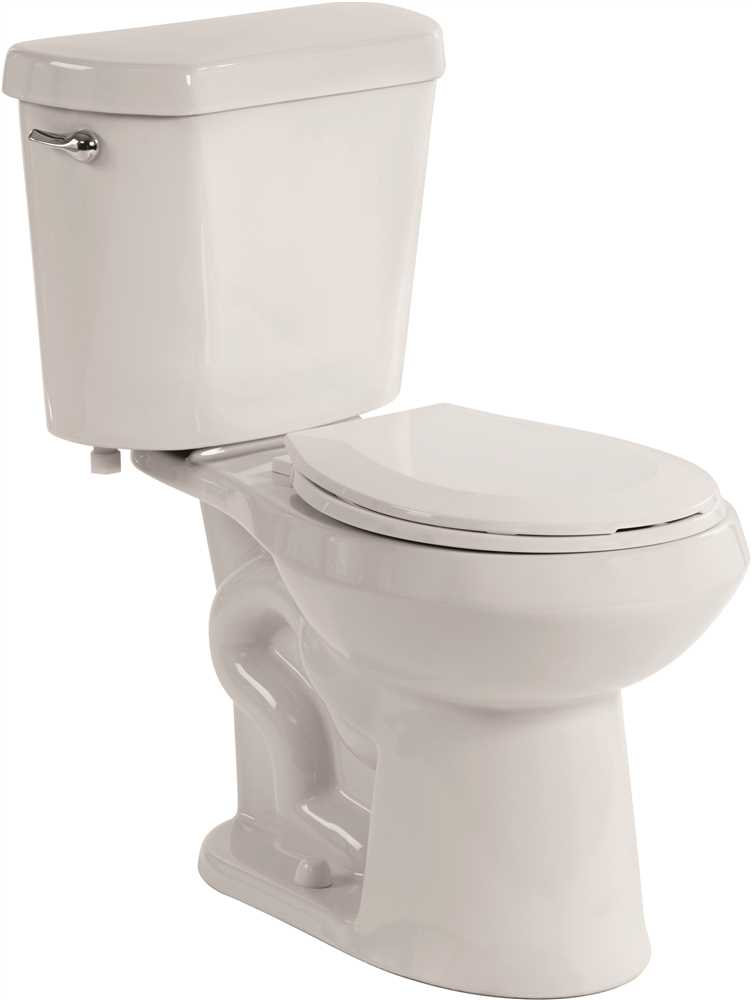 PREMIER SELECT� HIGH EFFICIENCY ALL-IN-ONE ROUND FRONT COMFORT HEIGHT TOILET WITH PLASTIC SEAT, 1.28 GPF