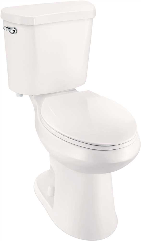 PREMIER SELECT� HIGH EFFICIENCY ALL-IN-ONE ELONGATED COMFORT HEIGHT TOILET WITH PLASTIC SEAT, 1.28 GPF