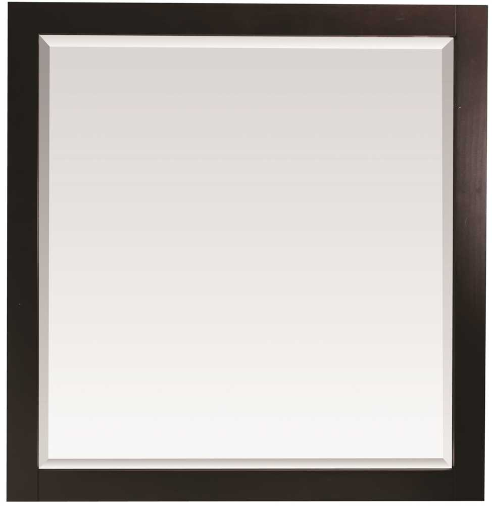 PREMIER� SONOMA� MIRROR WITH WOOD FRAME, ESPRESSO, 36X31 IN.