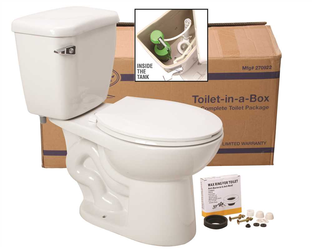 PREMIER� TOILET-IN-A BOX WITH ROUND BOWL, 1.6 GPF, WHITE