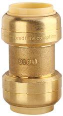 PREMIER� BRASS PUSH-FIT COUPLING, 1 IN. X 3/4 IN., LEAD-FREE