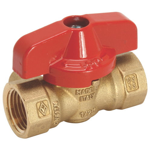 """GAS BALL VALVE WITH SIDE TAP 3/4"""" IPS"""