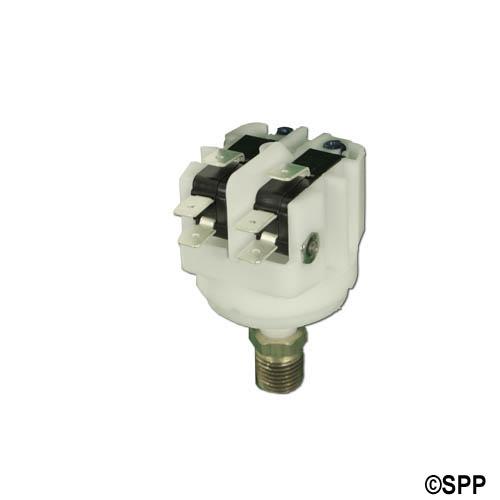 "Pressure Switch, Presair, DPDT, 21 Amp, Adjustable, 50 Psi, 1/8""-1/4"" NPT"