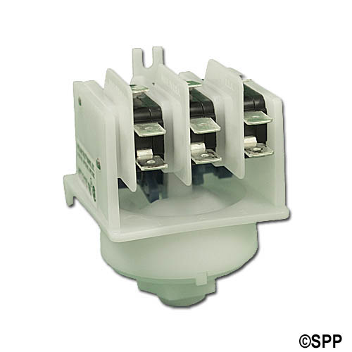 Stepper Switch, Air, Presair, 21A, Blue Cam, 4-Function, Center Spout