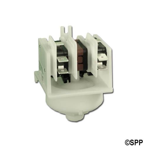 Stepper Switch, Air, Presair, 21A, Black Cam, 3-Function, Center Spout