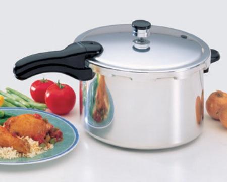8 Quart Aluminum Pressure Cooker