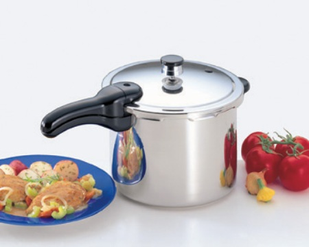 6 Quart Stainless Steel Pressure