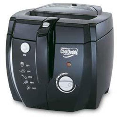 Cool Daddy Deep Fryer Black