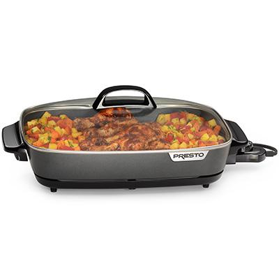 Electric SlimLine Skillet 16""