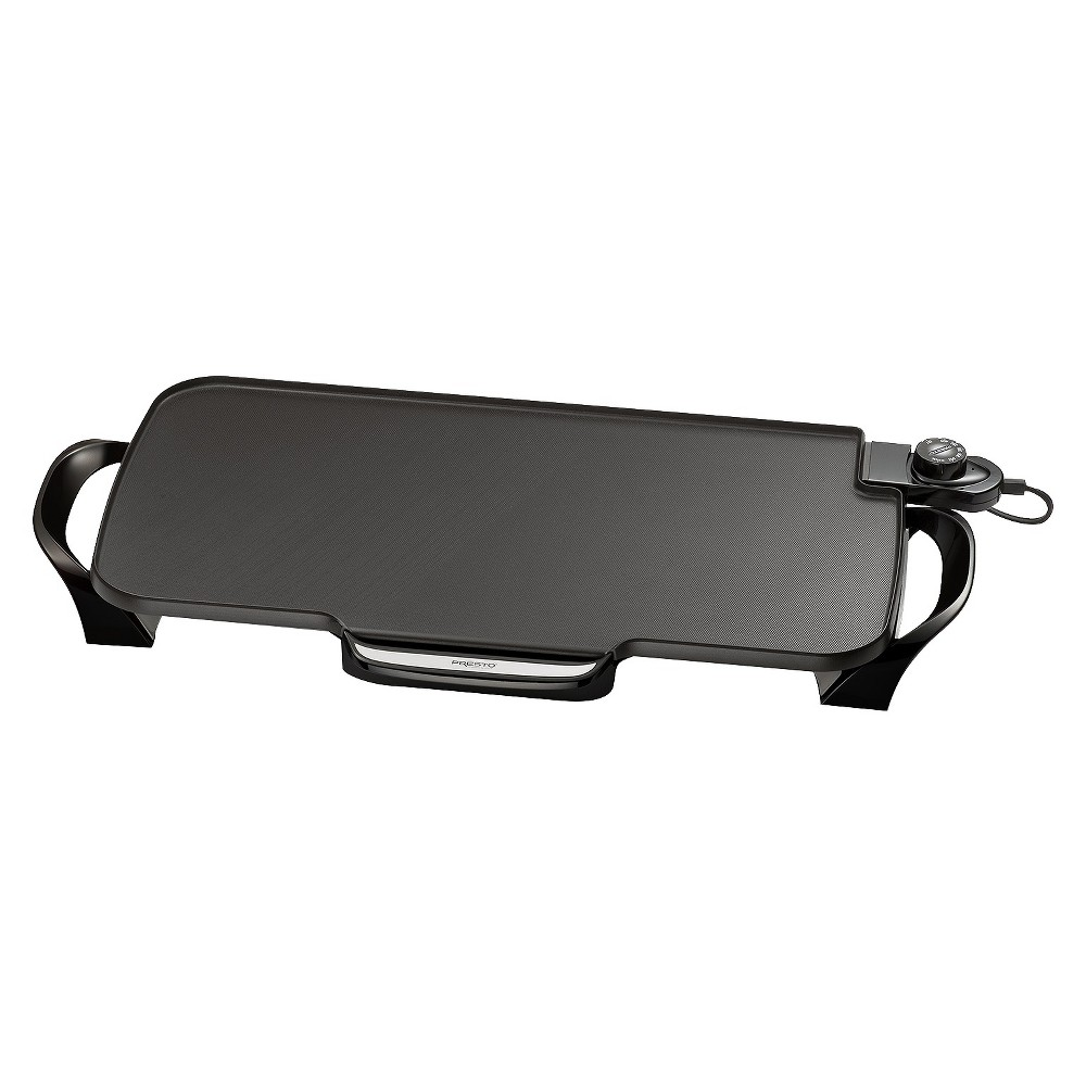 Presto 22x12 Inch Electric Griddle With Removable Handles