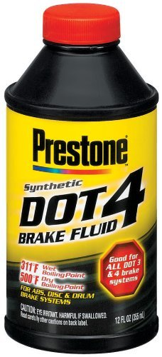 *DOT 4 BRAKE FLUID 12OZ