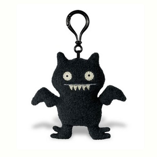 UglyDolls Black Secret Mission Ice-BatClip on Keychain