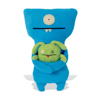 UglyDoll UglyBuddies Wedgehead & Ox
