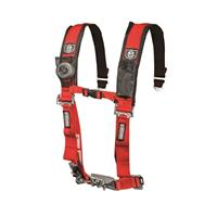 2IN 4PT HARNESS RED