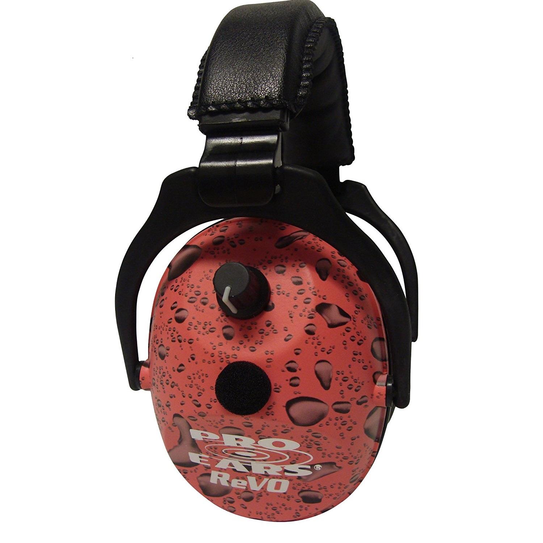 Pro Ears ReVO Electronic Ear Muffs - NRR 25 Pink Rain