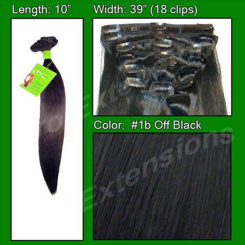 #1B Off Black - 10 inch