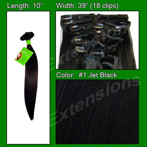 #1 Black - 10 inch