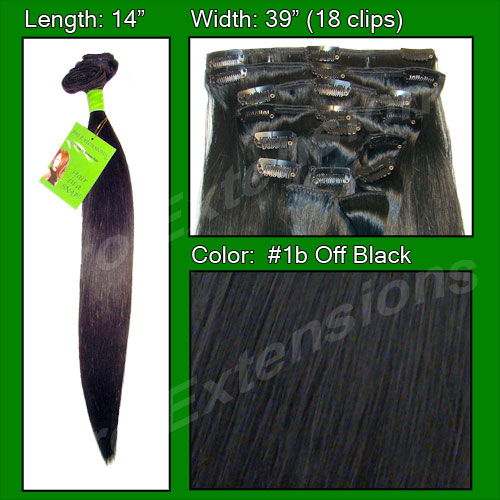 #1B Off Black - 14 inch