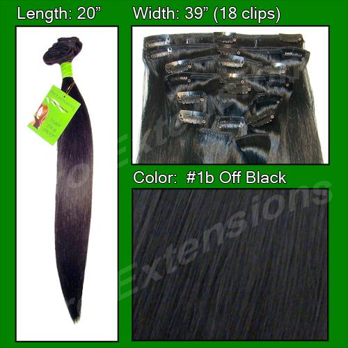 #1B Off Black - 20 inch