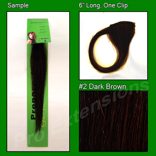 #2 Dark Brown Sample
